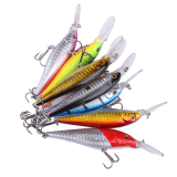 Review Tentang 8 Pcs Campuran Warna Luyaminuo Umpan Hook Fishing Tackle Lure Hook Sinking Air Tawar Luyaminuo Lure Set