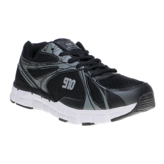 Review 910 Nineten Kenjiro 1 5 Sepatu Lari Hitam Abu Abu Perak