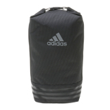 Jual Adidas 3 Stripes Shoe Bag Black Vista Grey