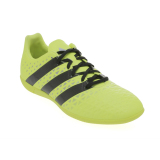 Spesifikasi Adidas Ace 16 3 Indoor Shoes Solar Yellow Core Black Silver Met Murah