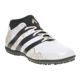 Adidas Ace 16 3 Primemesh Tf White Black Gold Indonesia Diskon 50