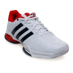 Ulasan Tentang Adidas Barricade Club Shoes Ftwr White Collegiate Navy Vivid Red