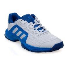 Harga Adidas Barricade Court 2 Shoes White Shock Blue Murah