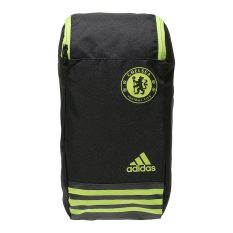 Jual Adidas Chelsea Fc Shoe Bag Black Yellow Branded Murah