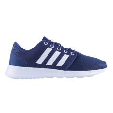 Toko Adidas Cloudfoam Qt Women S Racer Shoes Mystery Blue S17 Ftwr White Glow Orange S14 Online Indonesia