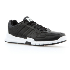 Adidas Essential Star 2.0 Shoes - Core Black -Core Black -Solar Red