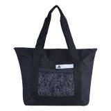 Review Adidas Good Tote Bag Black White Black