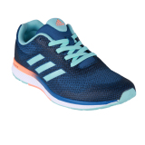 Ulasan Tentang Adidas Mana Bounce 2 Aramis Women S Running Shoes Clear Aqua Glow Orange S14 Running White