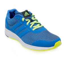 Adidas Mana Bounce Shoes - Solar Yellow-Collegiate Navy-Ftwr White