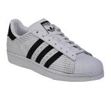 Jual Adidas Originals Superstar Sneakers Olahraga Pria White Black Black Classic Antik