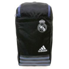 Beli Adidas Real Madrid Shoes Bag Hitam Putih Secara Angsuran