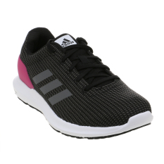 Adidas Women S Cosmic Running Shoes Core Black Iron Met Shock Pink Adidas Murah Di Indonesia