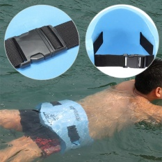 Harga Adjustable Back Floating Foam Swimming Belt Waist Training Equipment *D*Lt Children Tool Float Plate Freest Blue Intl Seken