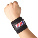 Diskon Adjustable Wrist Support Wrap Band Bernapas Olahraga Elastis Stretchy Wrist Joint Brace Akhir Tahun