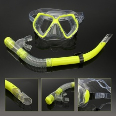 Review Toko *D*Lt Glass Swimming Swim Diving Scuba Anti Fog Goggles Mask Snorkel Set Intl Online