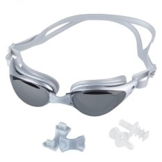 Adult Non-Fogging Anti Uv Swim Eyeglass Swimming Goggles Kaca Mata Renang By Santorini