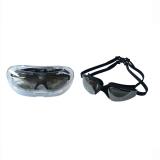 Dapatkan Segera Dewasa Rekreasi Swimming Goggles Antifog Tahan Air Hd Olahraga Outdoor Individu Warna Hitam