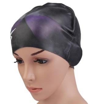 Esogoal Renang Topi Rambut Panjang Renang Topi Tahan Air Silikon Hat ... 0d66e85251