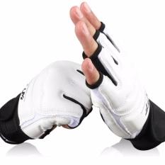 Orang Dewasa Anak-anak Sarung Tangan Tinju Setengah Jari Taekwondo FIGHTING Sarung Tangan Tinju Perdebatan Bergulat Melawan Tinju MMA Punch BAG Tangan PROTECTOR-Intl