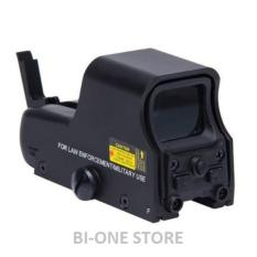 Jual Airsoft 551 Red Green Dot Scope Holographic Sight Black Di Indonesia