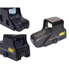 Airsoft 551 Red Green Dot Scope Holographic Sight Black - E376bb