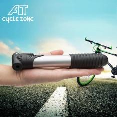 AJKOY-MINI Pompa Udara dengan Kurung Portable Air Pompa untuk Sepeda Jalan Sepeda Gunung Sepak Bola Basket Ballon-Intl