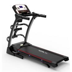 FREE ONGKIR UNTUK JABODETABEK DAN MEDAN KOTA Alat Fitness Treadmill Elektrik 3 Fungsi TL-630 Hitam