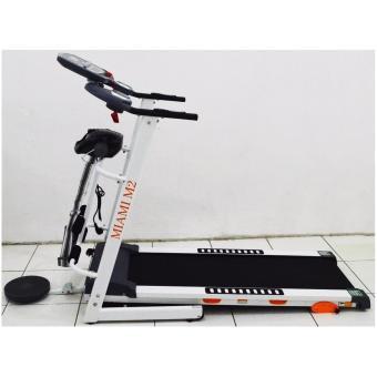 Toko Alat Fitness Treadmill Elektrik Miami M2 4 Fungsi Alat Olahraga Gym Treadmill Murah Best Seller Product Dekat Sini