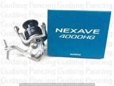 Alat Pancing Reel Murah  Shimano Nexave C 4000 HG