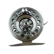 Semua Metal Fishing Reel Tangan Kanan Rocker dengan Brake 100 M Kapasitas Line-Intl
