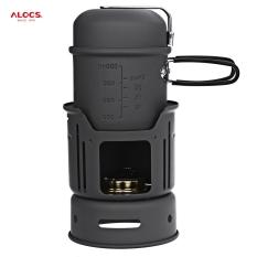 Toko Alocs Cw C01 Portabel 1 2 Orang 7 Buah Masak Per Setel Untuk Lintas Alam Berkemah Untuk Luar Ruangan Piknik Hitam Terdekat