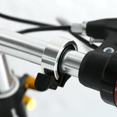 Review Aluminium Sepeda Handlebar Ring Bell Perak Intl Oem Di Tiongkok