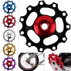 Aluminium Aloi 11 Gear Sepeda Jalan MTB Katrol Belakang Derailleur Roller Panduan Roda untuk Shiman