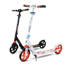 Paduan Aluminium 2 Roda Skuter untuk Dewasa Anak-anak Lipat Portabel Mini Sepeda Skuter Tendangan Dewasa Tinggi Dapat Disesuaikan Skuter 200 Mm -Internasional