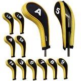 Toko Andux 12 Buah Set Golf Nomor Cetak Besi Pelindung Kepala With Ritsleting Leher Panjang Murah Di Tiongkok