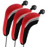 Katalog Andux 3 Buah Golf Klub Hibrida Penutup Kepala Sopir Headcovers Dipertukarkan Mt Hy01 Andux Terbaru