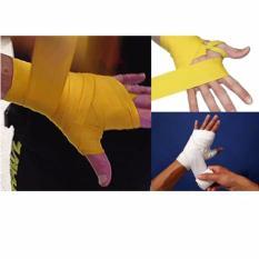 Review Toko Anekaimportdotcom Boxing Handwrap Hand Wrap Boxing Bandages Kain Tinju Wrist Fist Punching Kuning Online