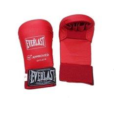 Anekaimportdotcom Sarung Tinju Everlast/ Boxing Gloves/ Muaythai - Merah