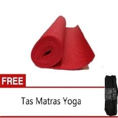 Jual Anekaimportdotcom Matras Yoga Merah Gratis Tas Antik