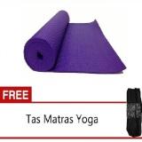 Promo Anekaimportdotcom Matras Yoga Ungu Gratis Tas Anekaimportdotcom