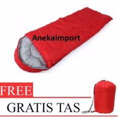 Jual Anekaimportdotcom Sleeping Bag Camping Kantong Tidur Outdoor Merah Anekaimportdotcom Ori