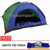 Spesifikasi Anekaimportdotcom Tenda Camping 2 3 Orang Ukuran 200Cm X150Cmx110Cm Sy210 Baru