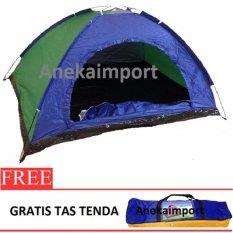 Promo Anekaimportdotcom Tenda Camping 2 3 Orang Ukuran 200Cm X150Cmx110Cm Sy210 Dki Jakarta