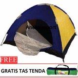 Review Tentang Anekaimportdotcom Tenda Camping 2 3 Orang Ukuran 200Cm X150Cmx110Cm Sy210