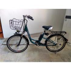 Antelope Alpine - Sepeda Listrik 250W dengan Baterai Lithium 48V 10AH