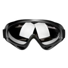 Anti Fog Debu Angin Uv Helm Ski Ski Goggles Ski Kacamata (hitam Abu-Abu Lensa)-Intl By Cheerfulhigh.