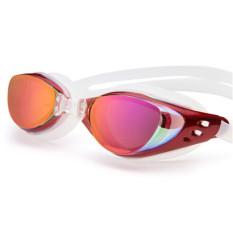 Jual Anti Fog Goggles Elektroplating Uv400 Berenang Olahraga Kacamata Merah Ori