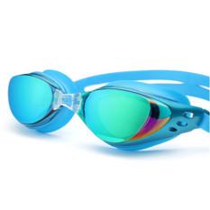 Anti Kabut Kaca Mata Selam Elektroplating Uv400 Kacamata Olahraga Renang Danau Biru Not Specified Diskon 50