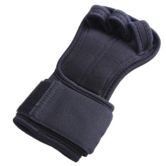 Anti Selip Setengah Jari untuk Gym Latihan Kebugaran Latihan Dumbbell Bracer Sarung Tangan-Intl