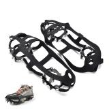 Harga Anti Slip Sepatu Boot Grips Es Cleats Spikes Salju Gripper Non Slip Crampon 230 115 3Mm Intl Terbaik